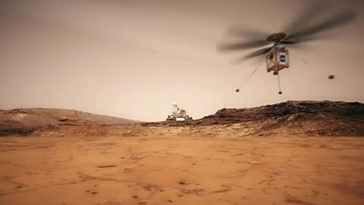 Helicopter to Mars