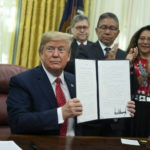 Trump signs executive order creating task force on missing and murdered Native Americans