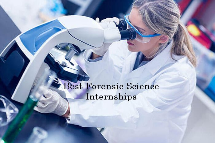 forensic science internships