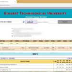 GTU Student Grade History: Retrieve Updated Results and Student Details via GTU Website