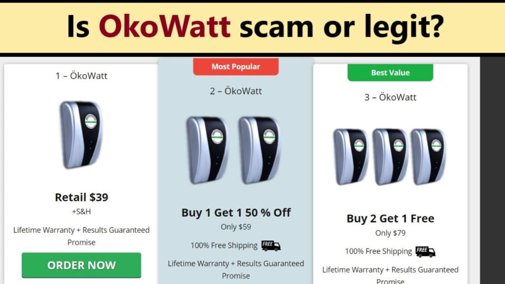 Okowatt: Electricity Saving Device