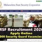 www.mahasecurity.gov.in PDF 2020 - New Job Information