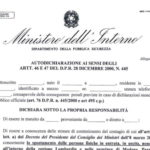 AutoCertificazione Coronavirus Pdf Download: Mandatory Self-Certification Form in Italy