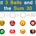 Select 3 Balls to Equal 30 Answer: Trending Pool Riddle on Social Media