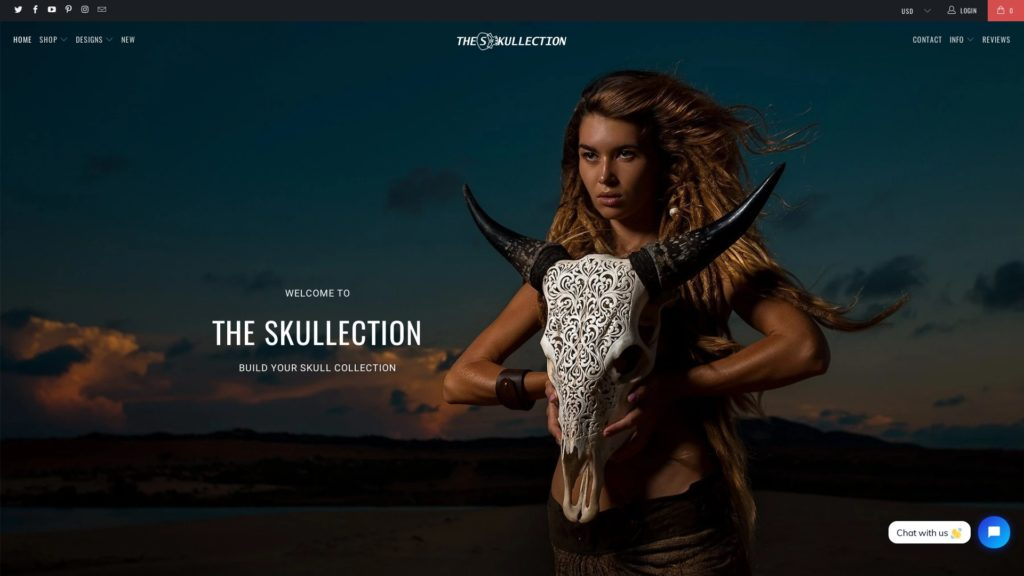 The Skullection Website
