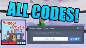 Codes For Noval Om Roblox Ragdoll Royale Codes Roblox Earn Code Online Newz Square