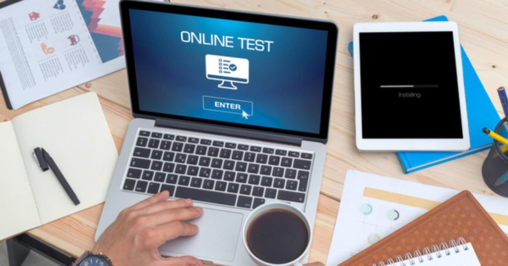 Online Exams Taking Software